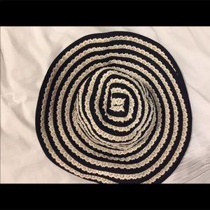 Anthropologie Renee,s NYC floppy sun hat